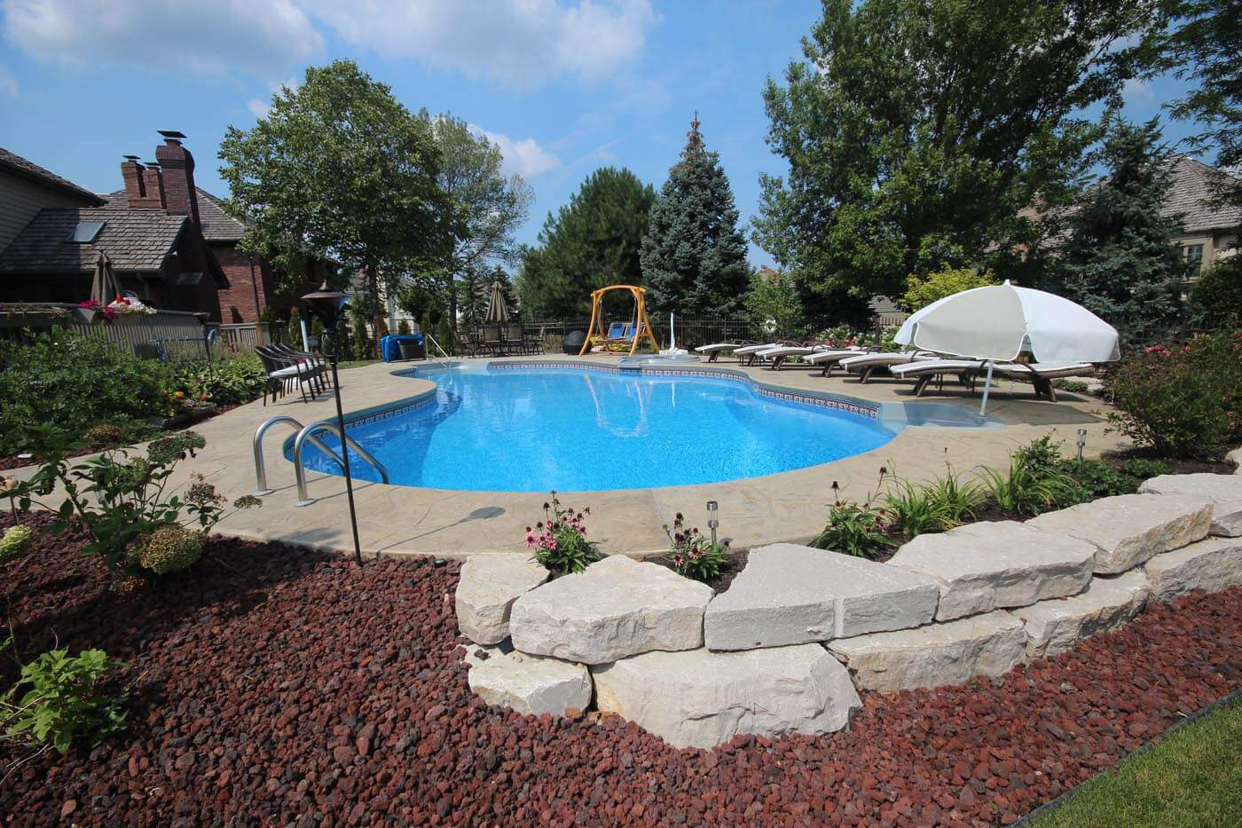 Design your own swimming pool oasis aqua pools online for Design my own pool