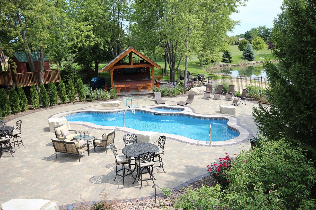 Gray Aqua Pools Online