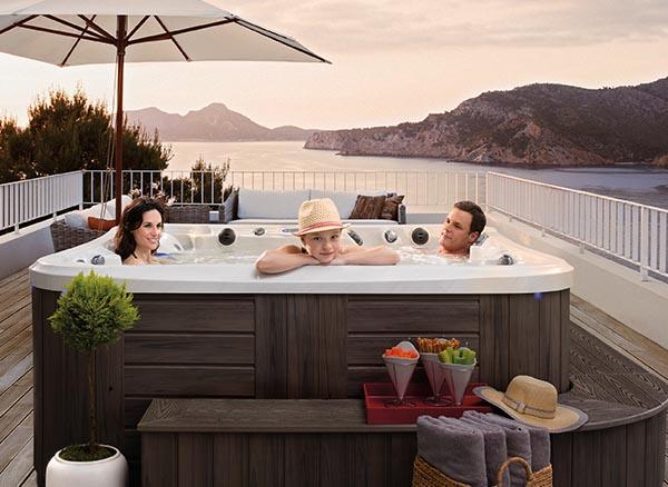 Hot Tub Fence