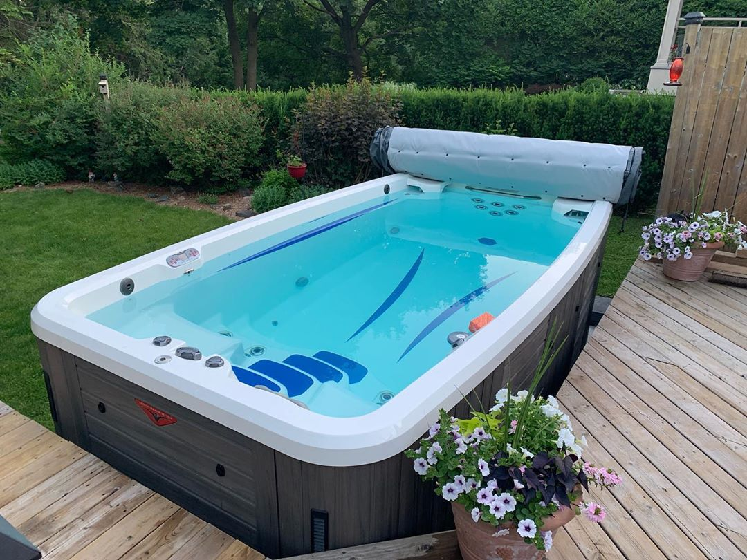 care for your swim spa this summer