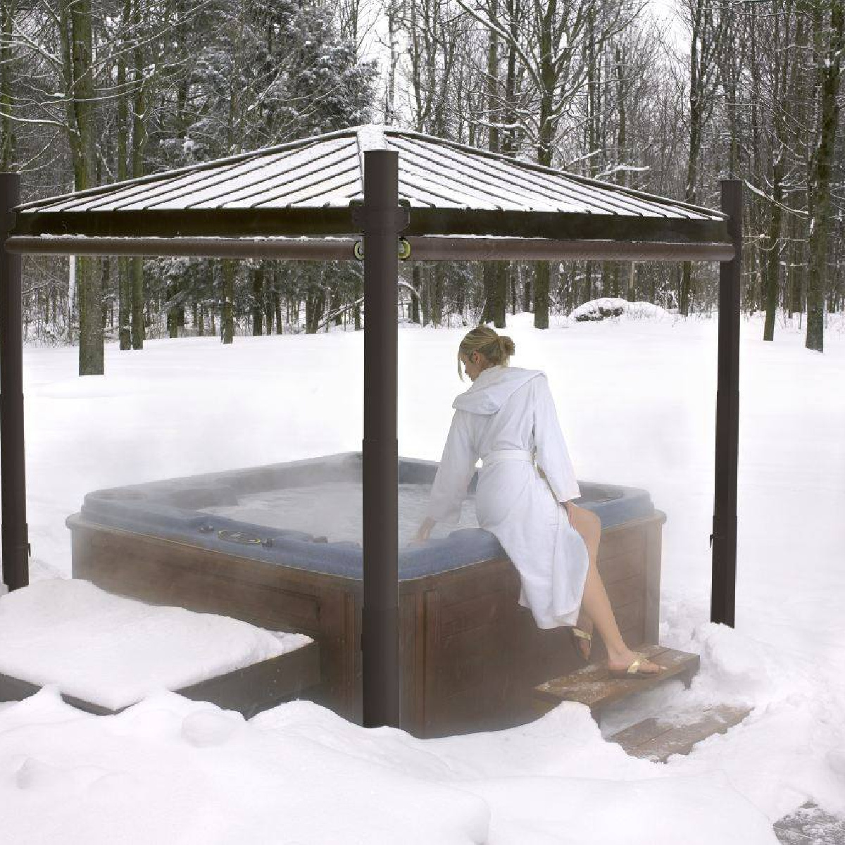 Prepping your hot tub for the cold season