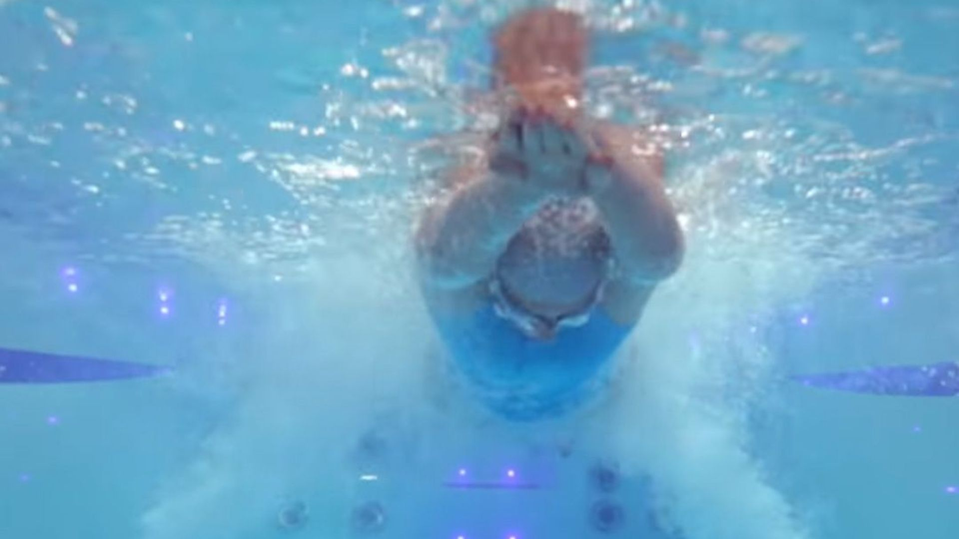 swim spa in winter